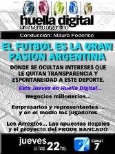 """Imperdible: """"Huella Digital"""", este jueves a las 22hs por canal 7"""